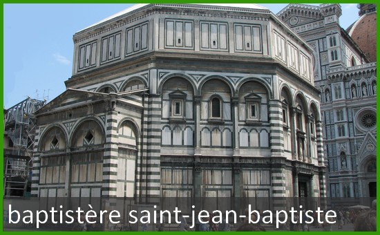 Baptistere Saint Jean Baptiste a Florence