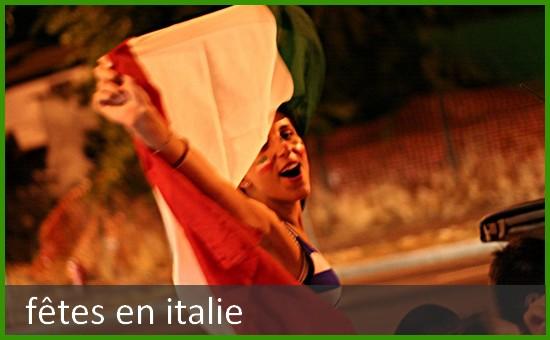 fetes italie