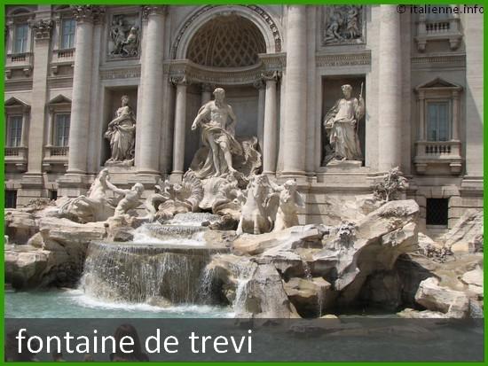 Photo de la fontaine de Rome