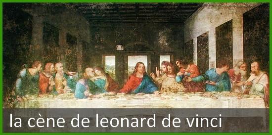 La Scene de Leonard de Vinci