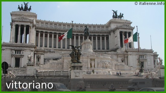Vittoriano Monument a Victor Emanuel II