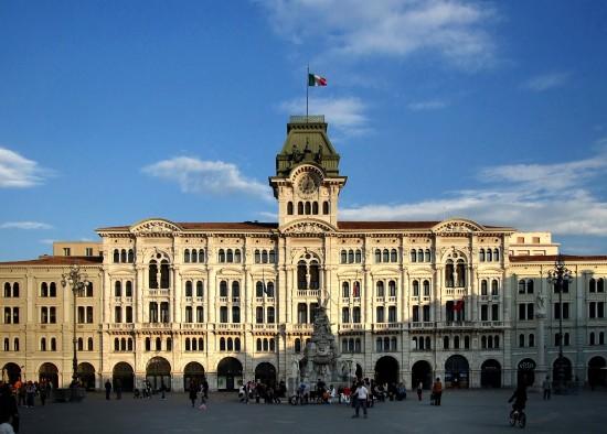 La Piazza Unita d'Italia