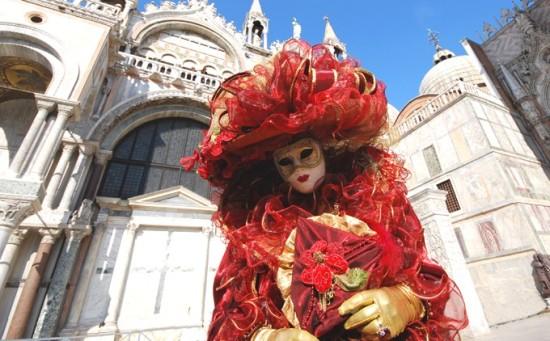 Vêtements du Carnaval de Venise