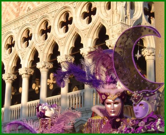 le carnaval de venise en italie