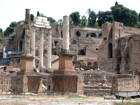 Ruines de la Rome Antique