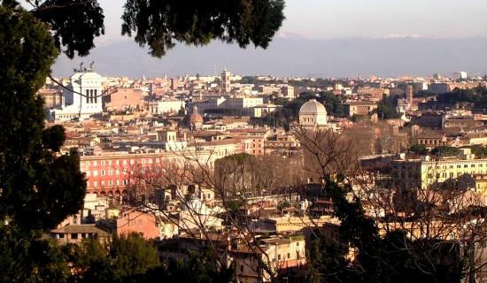 Hôtel de charme à Rome, la vue