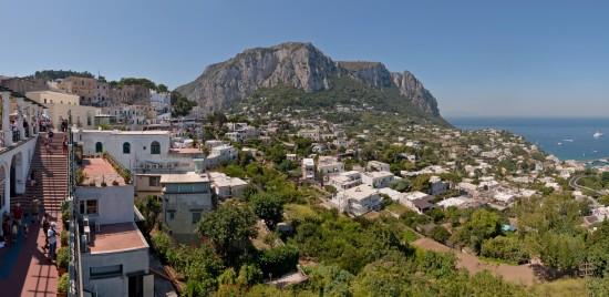 La ville de Capri