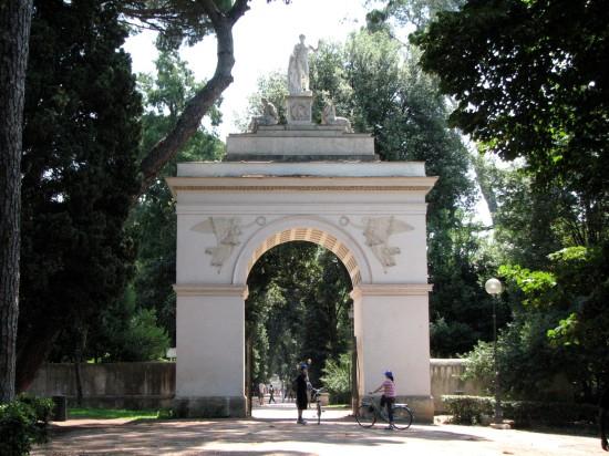 Arc de la Villa Borghese
