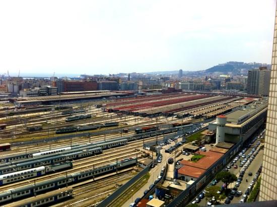 La gare de Naples