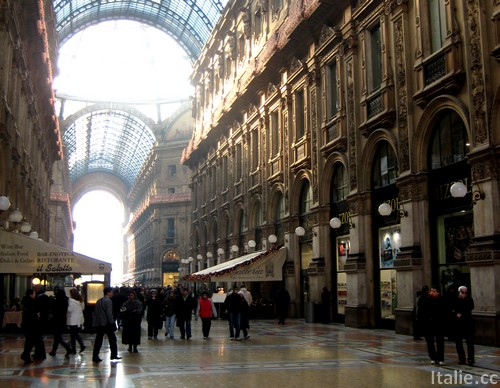 Avenue commercante Milan