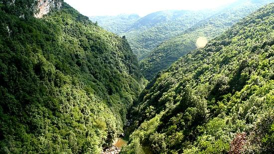 Parc du Cilento et du Val de Diano Italie