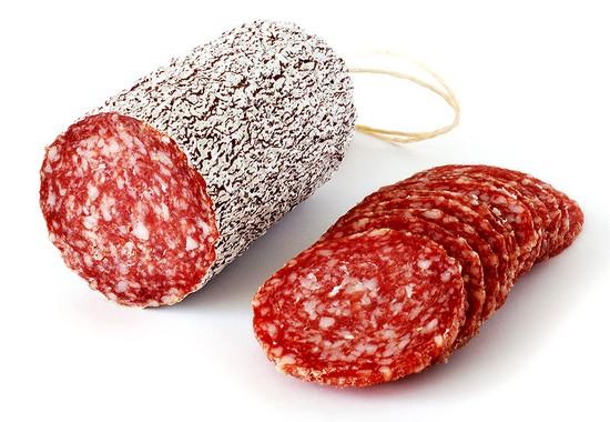 Le salami d'Italie