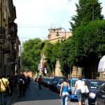 Rue de Pise en Italie