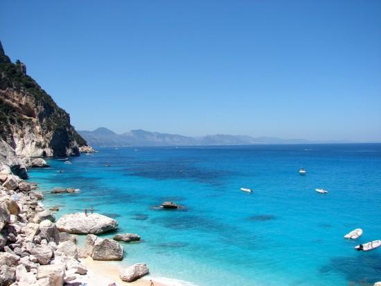 Plage en Sardaigne Italie