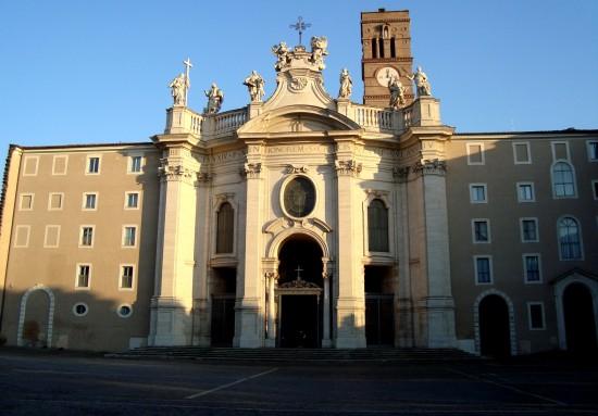 Basilique Sainte-Croix-de-Jérusalem, Rome, Italie