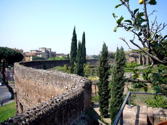 L'amphithéâtre Castrense, Rome, Italie