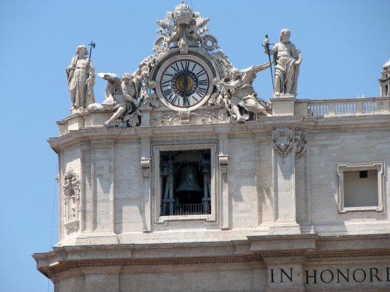 Horloge du Vatican