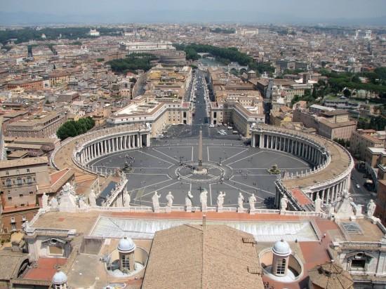 Vue d'ensemble du Vatican