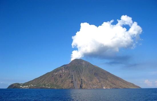 L'Ile de Stromboli en Italie