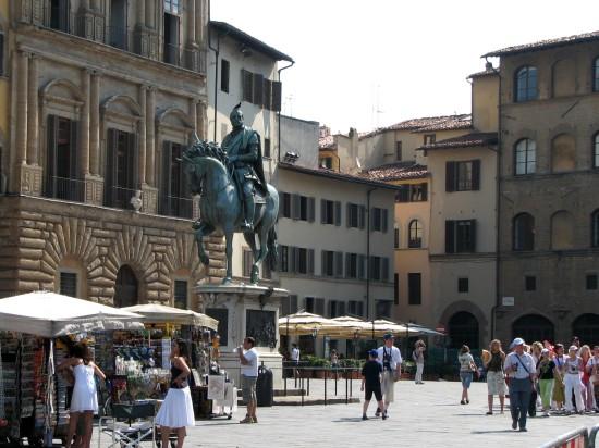 Les boutiques à Florence