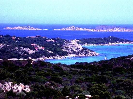 la Costa Smeralda en Italie
