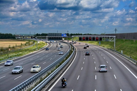 Autoroute en Italie