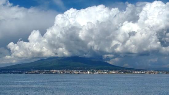Baie de Naples en Italie