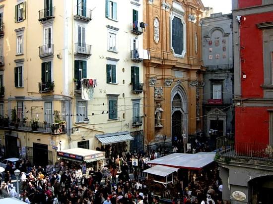 Piazza San Gaetano à Naples