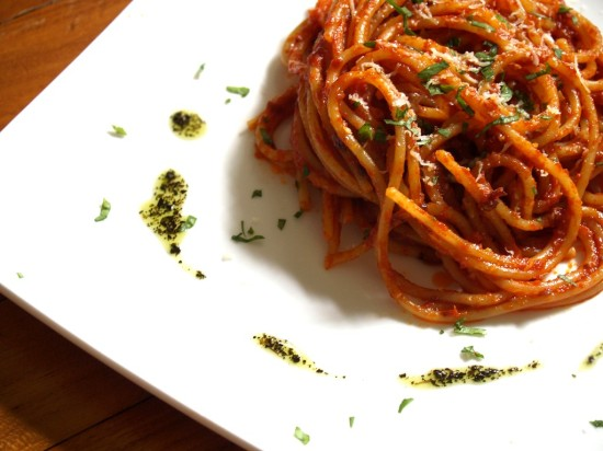 Spaghetti Italiens