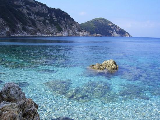 L'ile d'Elbe en Italie, la mer
