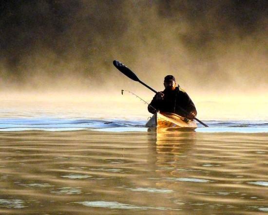 Kayak en Italie