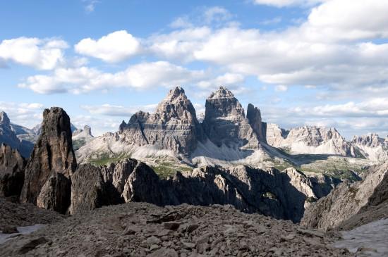Escalade dans les Alpes Italiennes