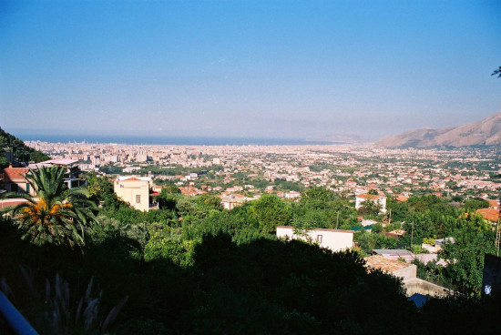 Vue sur la ville de Palerme en Italie
