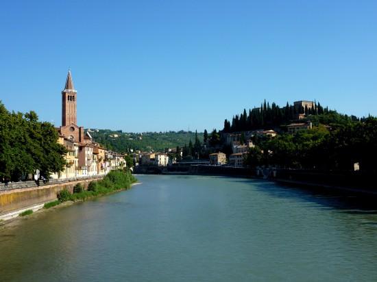 L'Adige à Vérone