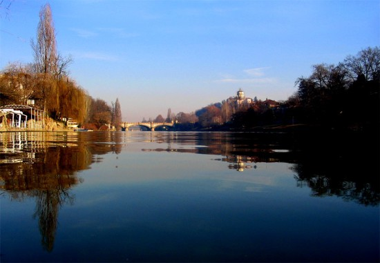 Le Pô à Turin