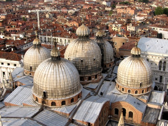 Le quartier de Saint-Marc à Venise