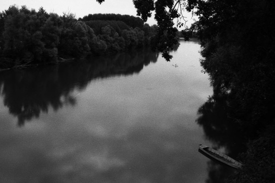 Rivière Tanaro en Italie