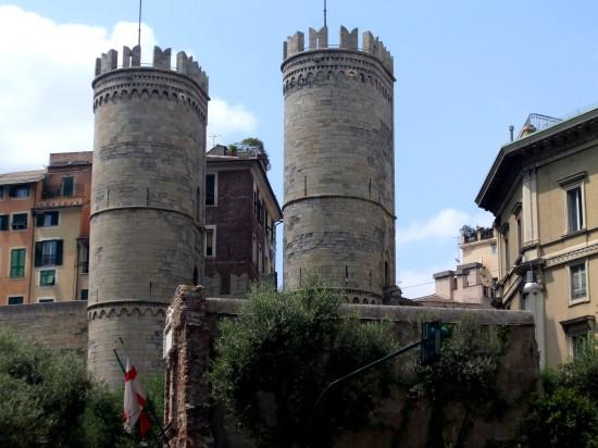 La porte Caruggi, Gênes