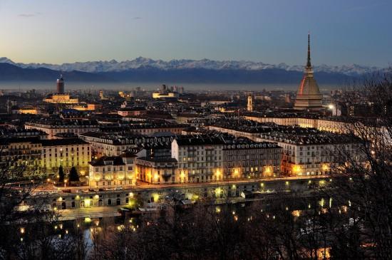 Turin, la nuit
