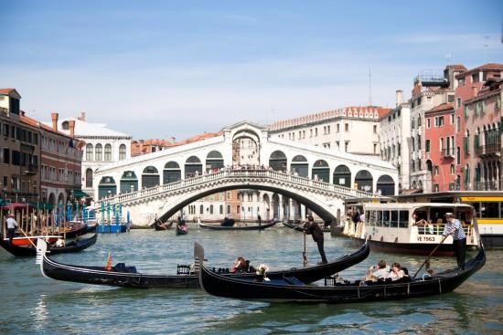 Pont Rialto, Venise