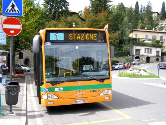 Bus typique italien