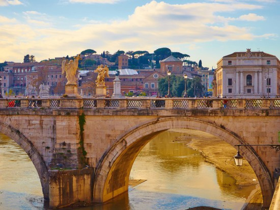 Magnifique photo de la ville de Rome