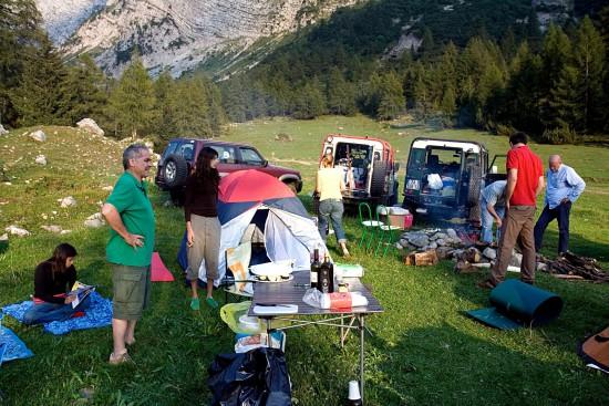 italie camping